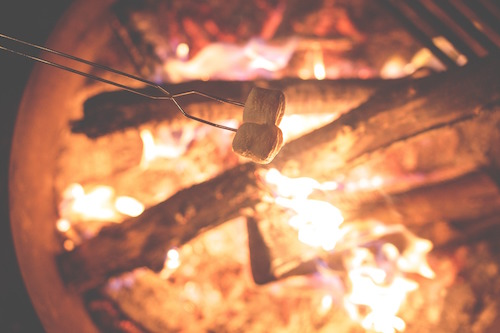 A Fork in the Trail, Laurie Ann March, camping recipes, camping pie recipes, s'mores pie