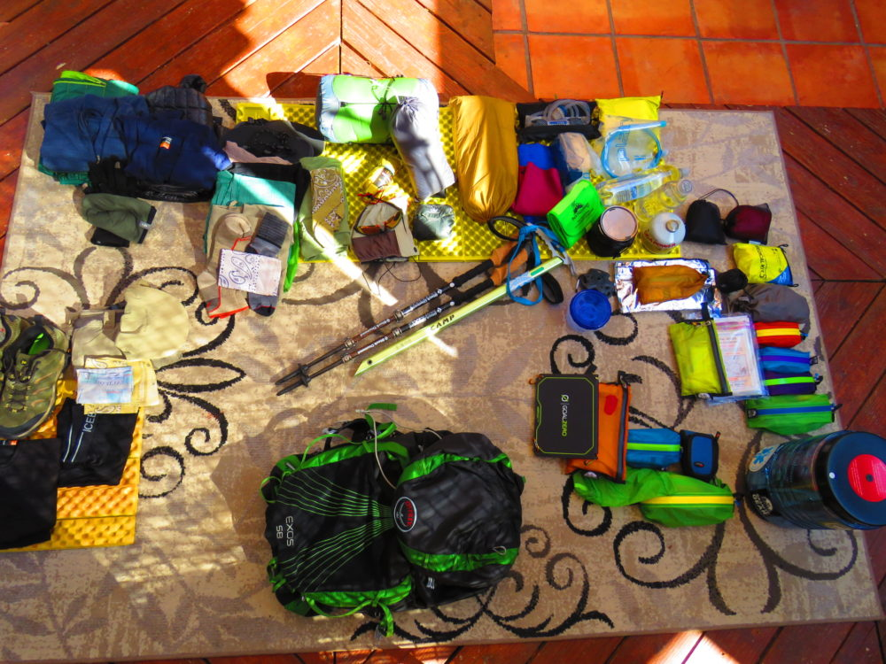 #livethePCT, pacific crest trail, packing for the PCT, PCT, PCT guidebook, wilderness press, Jordan Summers