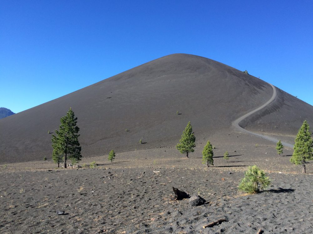 Lassen Volcanic National Park, Cinder Cone, volcano hikes, northern California hiking,