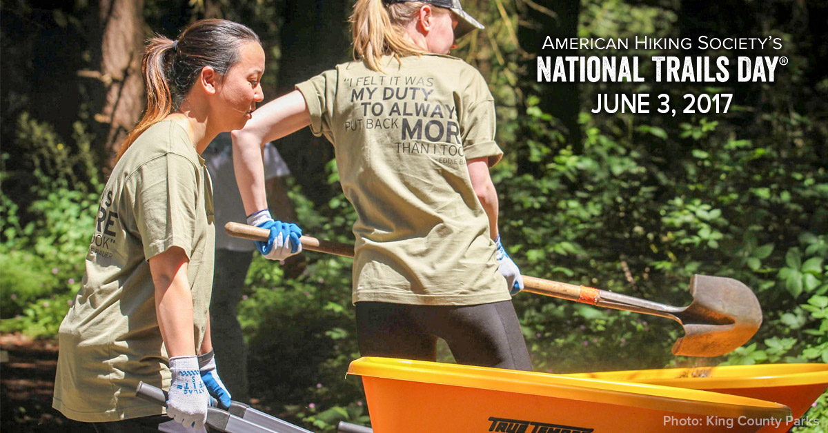 National Trails Day, American Hiking Society