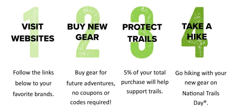 Gear Up Get Out, National Trails Day, American Hiking Society
