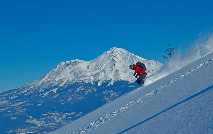 Mount Shasta skiing