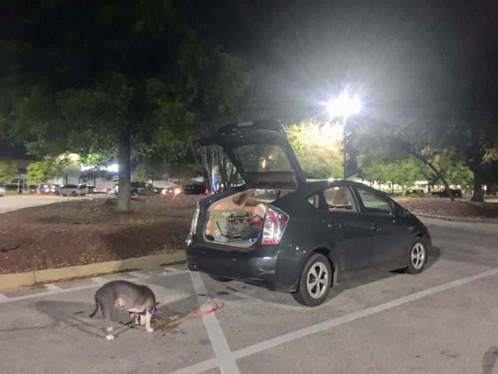 Tips for sleeping at Walmart, Wilderness Press