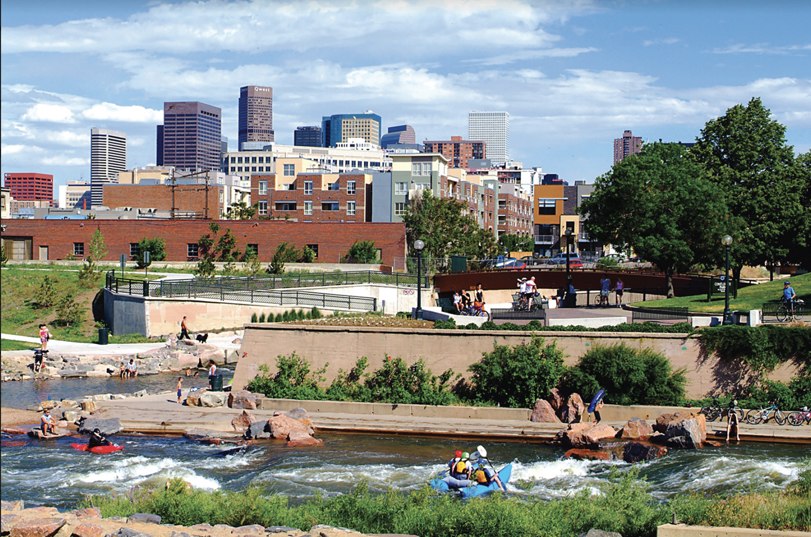 Platte River, Commons Park, Walking Denver, Mindy Sink, Outdoor Retailer