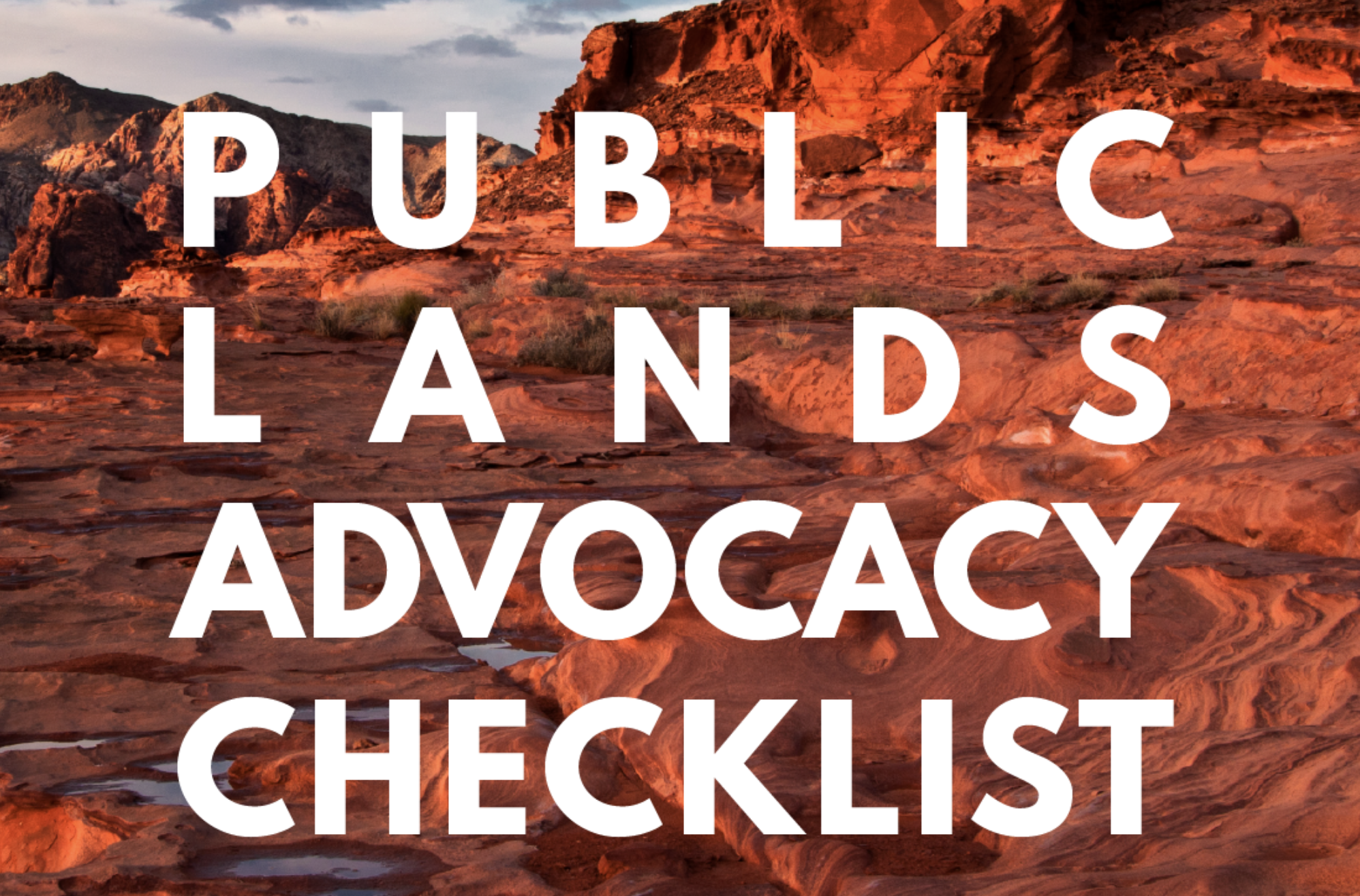 Public Lands 101, National Public Lands Day, Conservation Alliance