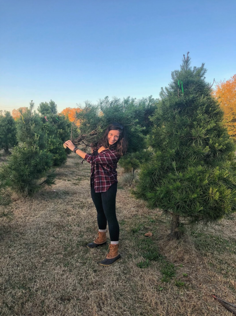 How to cut down a Christmas tree, Wilderness Press