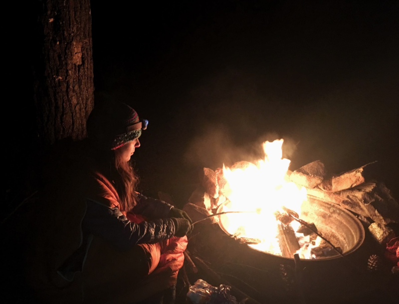 Why to camp on New Year's Eve